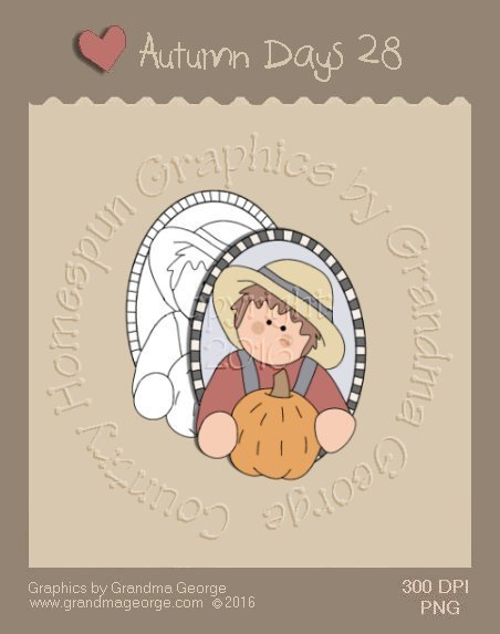 Autumn Days Single Country Graphic 28