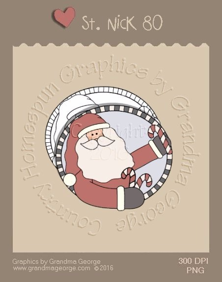 St. Nick Single Country Graphic 80
