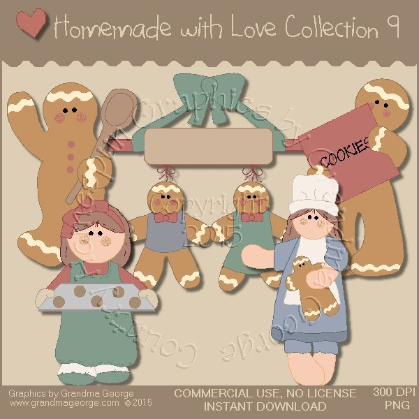 Homemade with Love Graphics Collection Vol. 9