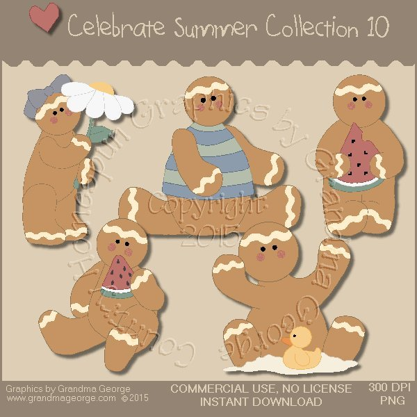 Celebrate Summer Country Graphics Collection Vol. 10