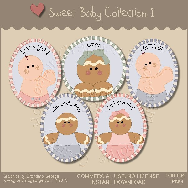 Sweet Baby Graphics Collection Vol. 1