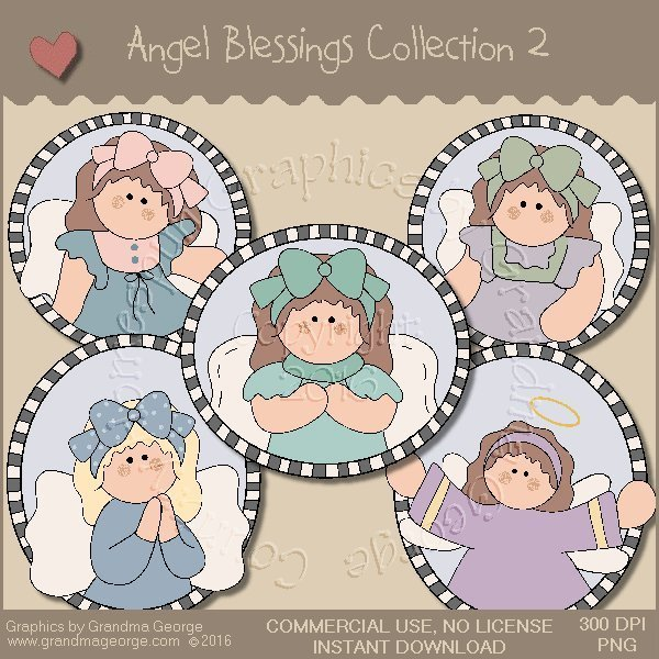 Angel Blessings Country Graphics Collection Vol. 2