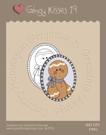 Gingy Kisses Single Country Graphic 19