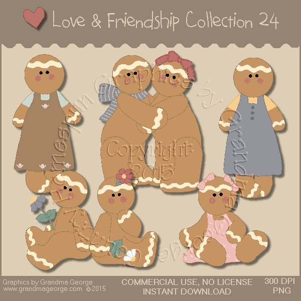 Love & Friendship Graphics Collection Vol. 24