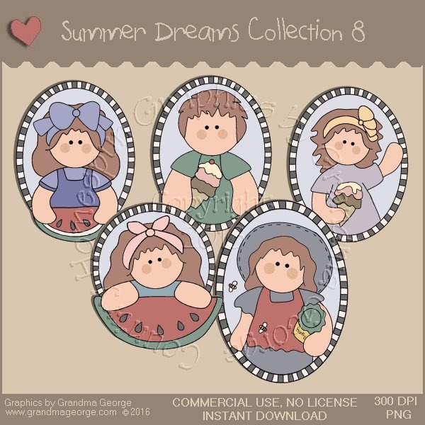 Summer Dreams Country Graphics Collection Vol. 8
