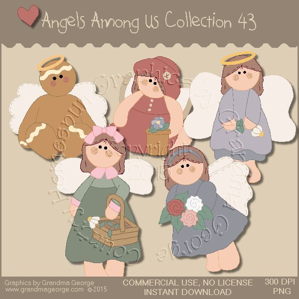 Angels Among Us Graphics Collection Vol. 43