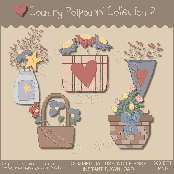 Country Potpourri Graphics Collection Vol. 2