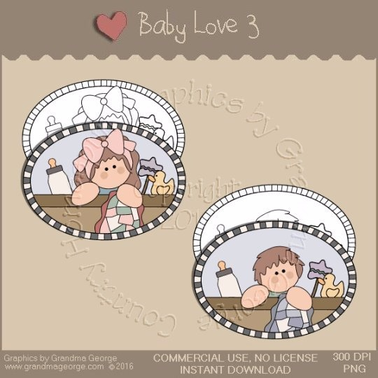 Baby Love Single Country Graphic 3