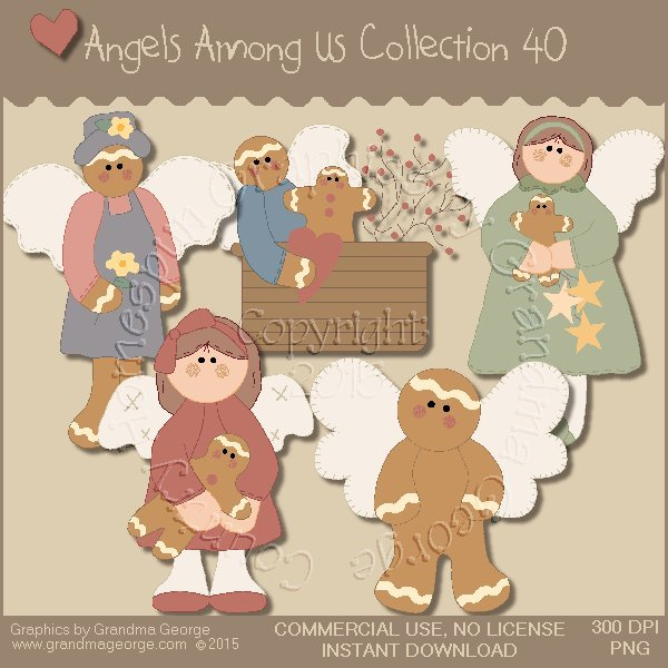 Angels Among Us Graphics Collection Vol. 40