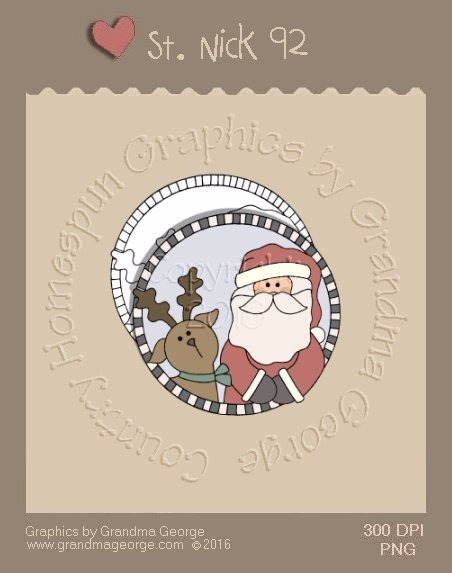 St. Nick Single Country Graphic 92