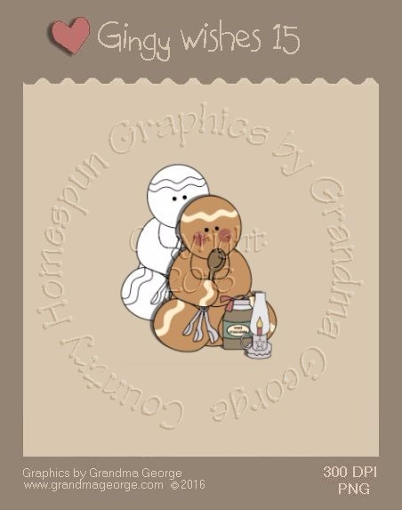 Gingy Wishes Single Country Graphic 15