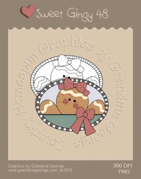 Sweet Gingy Single Country Graphic 48