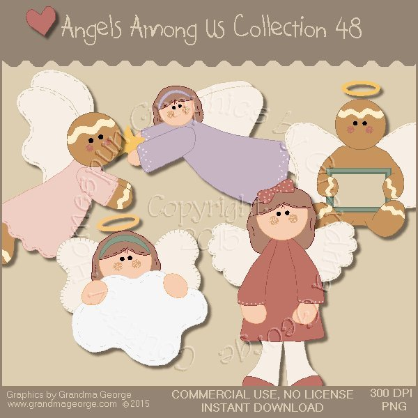 Angels Among Us Graphics Collection Vol. 48