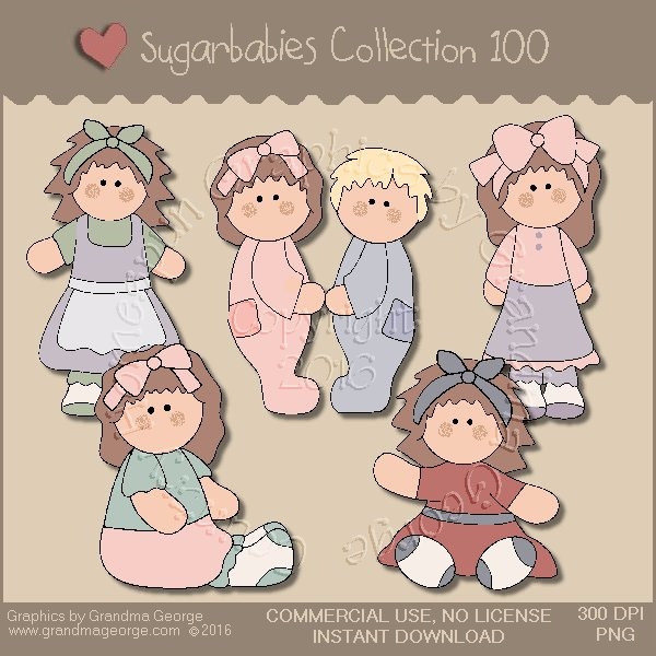 Sugarbabies Country Graphics Collection Vol. 100