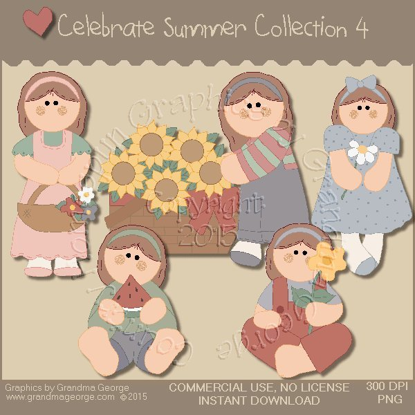 Celebrate Summer Country Graphics Collection Vol. 4