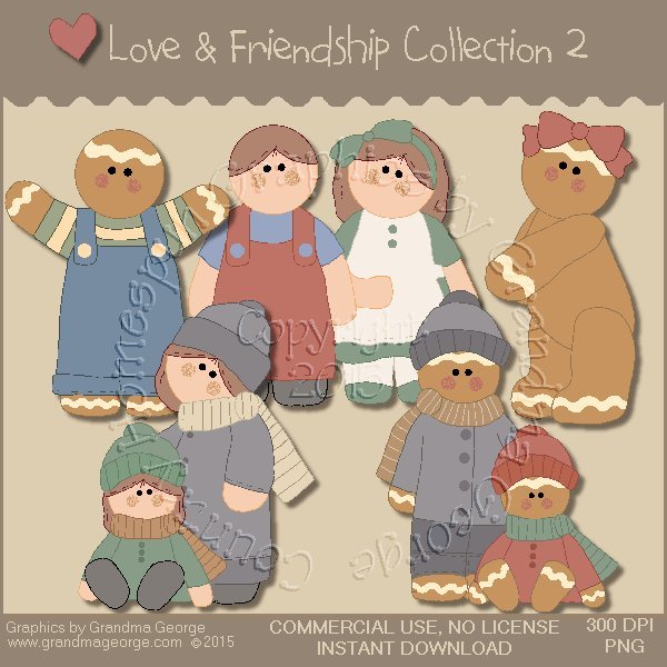 Love & Friendship Graphics Collection Vol. 2