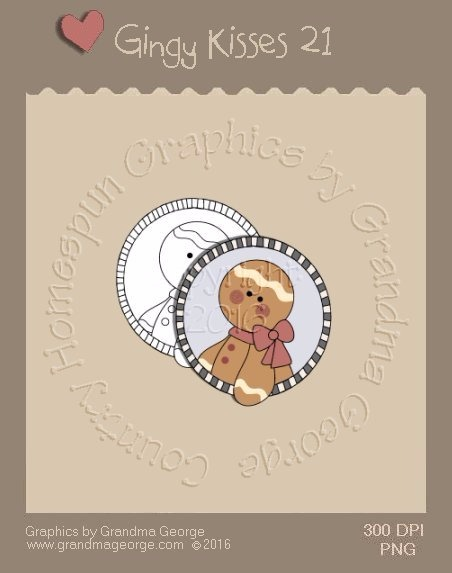 Gingy Kisses Single Country Graphic 21