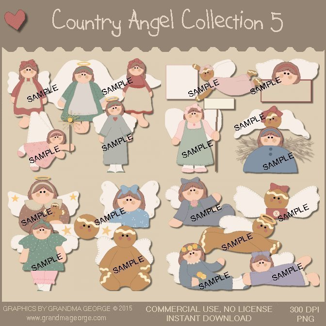 Country Angel Graphics Collection Vol. 5