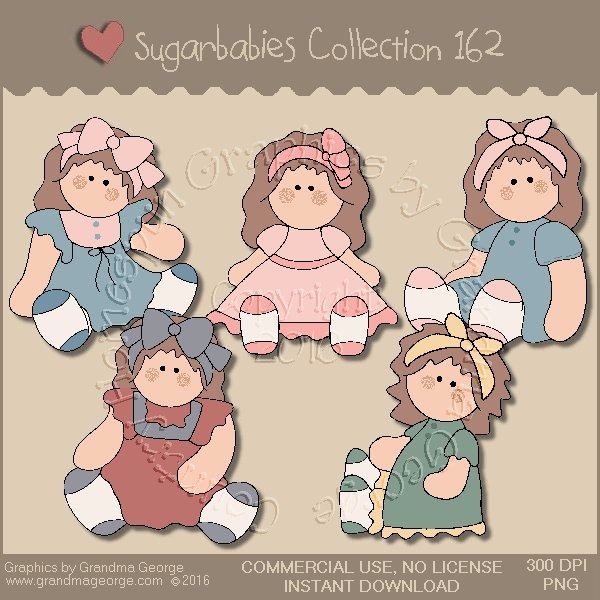Sugarbabies Country Graphics Collection Vol. 162