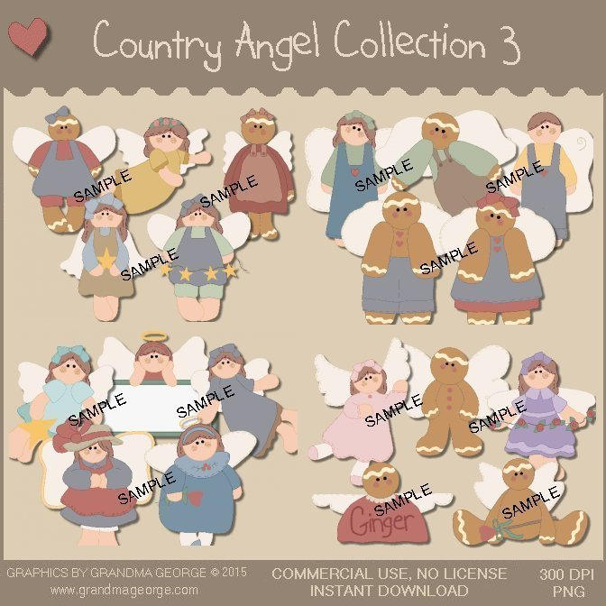 Country Angel Graphics Collection Vol. 3