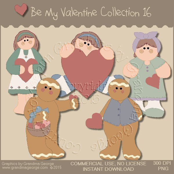 Be My Valentine Graphics Collection Vol. 16