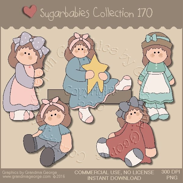 Sugarbabies Country Graphics Collection Vol. 170