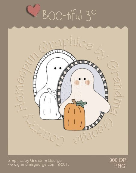 BOO-tiful - Halloween Single Country Graphic 39