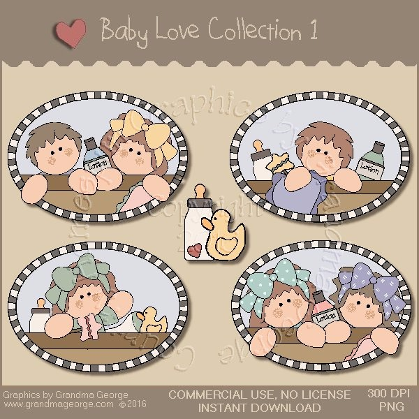 Baby Love Country Graphics Collection Vol. 1