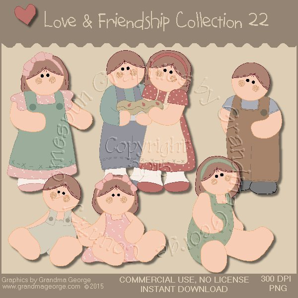 Love & Friendship Graphics Collection Vol. 22