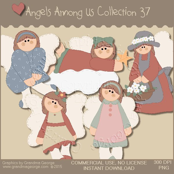 Angels Among Us Graphics Collection Vol. 37