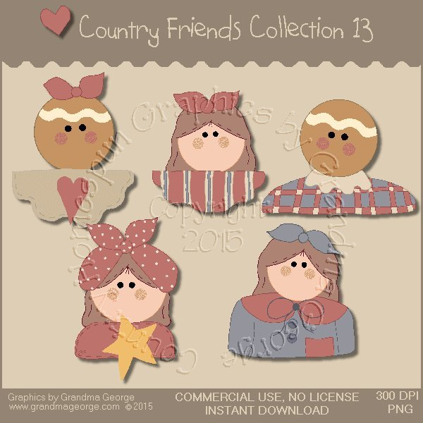 Country Friends Graphics Collection Vol. 13