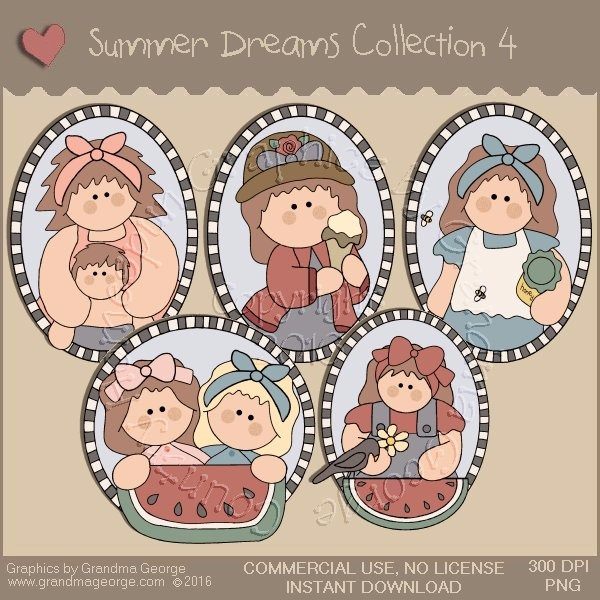 Summer Dreams Country Graphics Collection Vol. 4