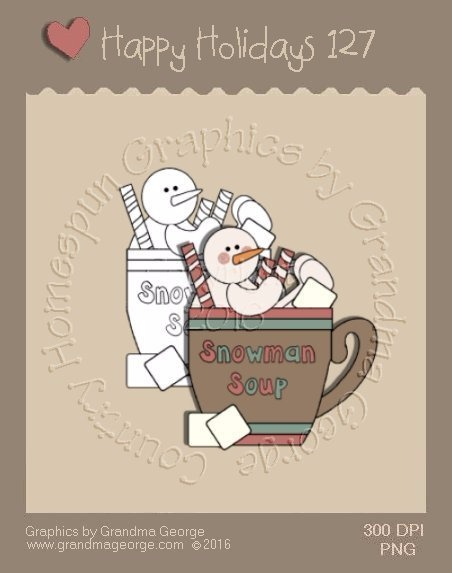 Happy Holidays Christmas Single Country Graphic 127