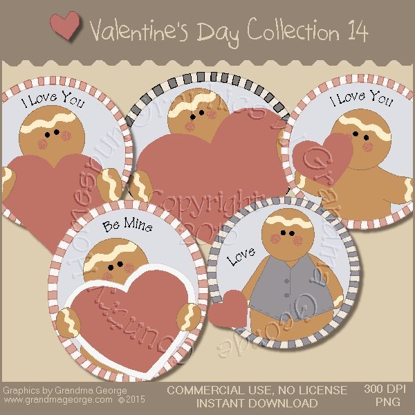 Valentine's Day Graphics Collection Vol. 14