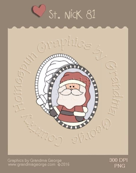 St. Nick Single Country Graphic 81