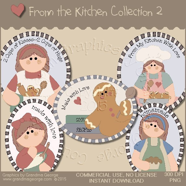From the Kitchen Graphics Collection Vol. 2