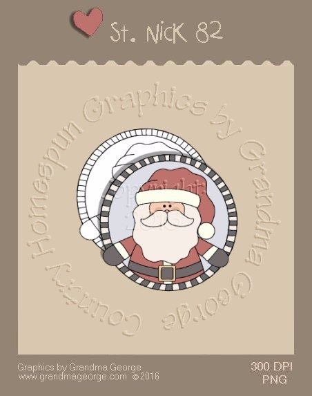 St. Nick Single Country Graphic 82