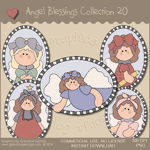 Angel Blessings Country Graphics Collection Vol. 20