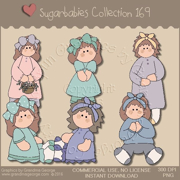 Sugarbabies Country Graphics Collection Vol. 169