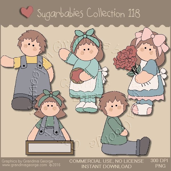 Sugarbabies Country Graphics Collection Vol. 118
