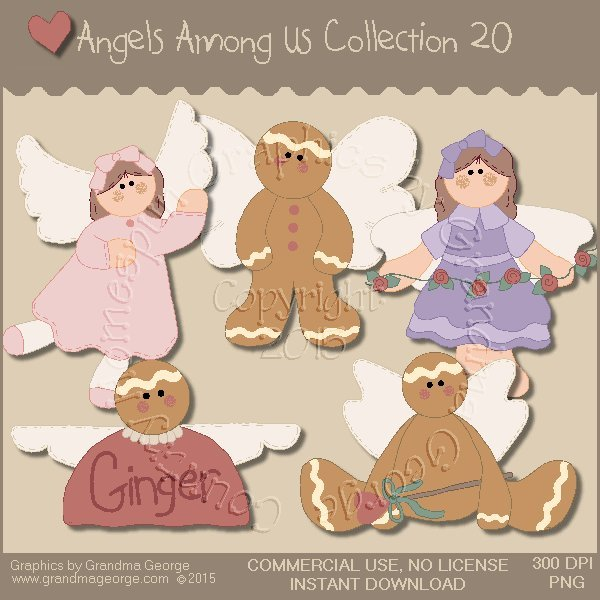 Angels Among Us Graphics Collection Vol. 20