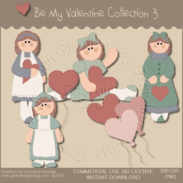 Be My Valentine Graphics Collection Vol. 3