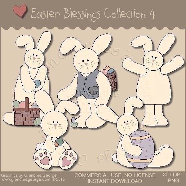 Easter Blessings Country Graphics Collection Vol. 4