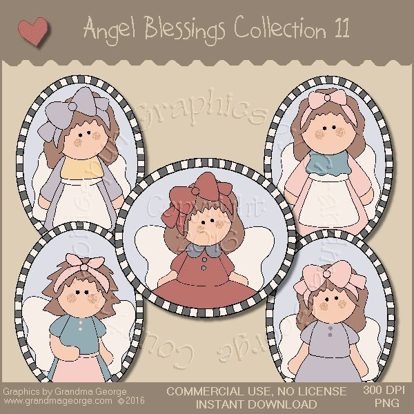 Angel Blessings Country Graphics Collection Vol. 11