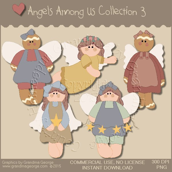 Angels Among Us Graphics Collection Vol. 3