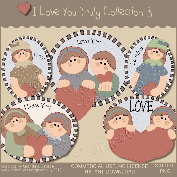 I Love You Truly Graphics Collection Vol. 3