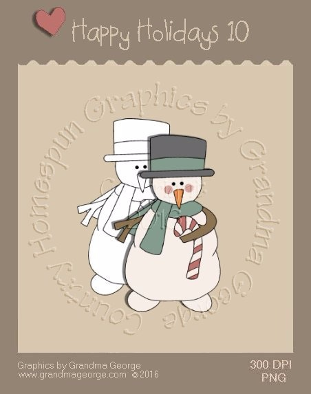 Happy Holidays Christmas Single Country Graphic 10