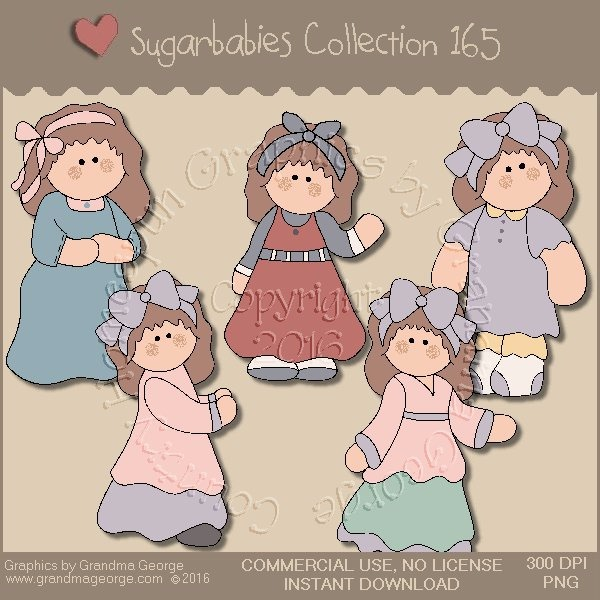 Sugarbabies Country Graphics Collection Vol. 165