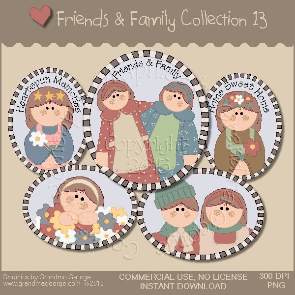 Friends & Family Graphics Collection Vol. 13