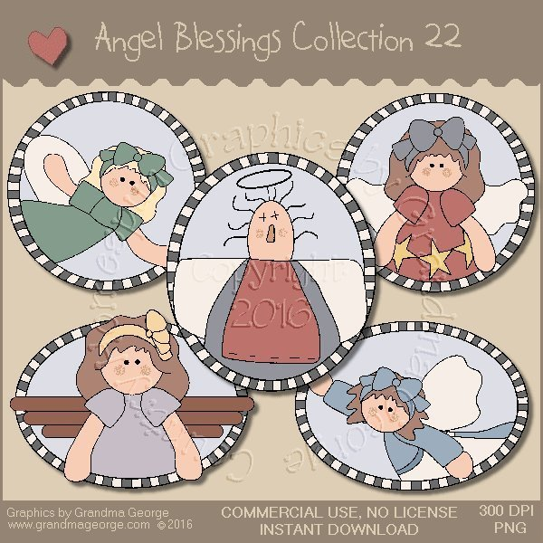 Angel Blessings Country Graphics Collection Vol. 22